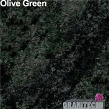 Olive Green Granite Slabs & Tiles, South Africa Green Granite