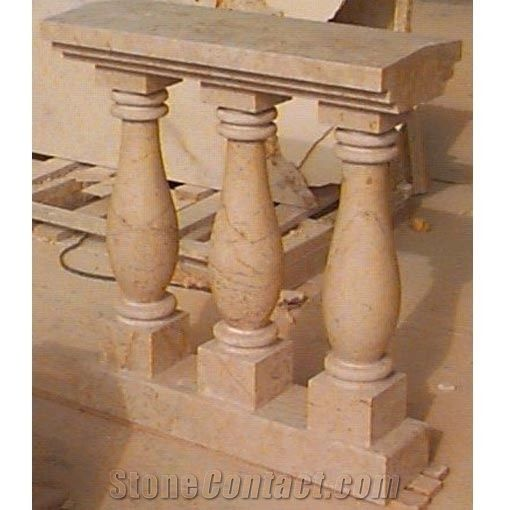 Tikul And Coquina Stone Baluster From Mexico Stonecontact Com