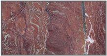 Rosso Rubino Marble Tile