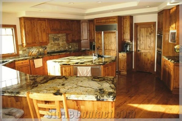 Golden Rustic Granite Countertop From United States 86612