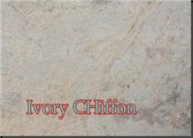 Ivory Chiffon, India Beige Granite Slabs & Tiles