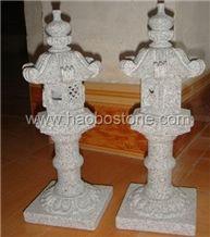 White Granite Lamp