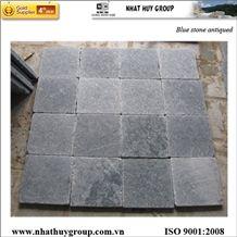Vietnam Blue Stone (limestone) Antiqued