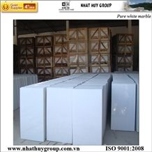Vietnam White Marble Tiles & Slabs, Salt White Marble Polished Tiles, Floor Tiles