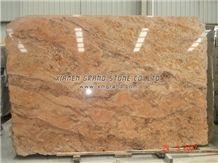 Vyara Gold Granite Slab, India Yellow Granite