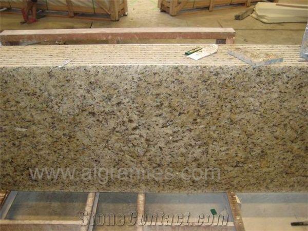 Giallo Cecilia Prefab Granite Countertop