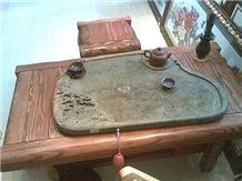 Stone Tray, Black Granite Trays
