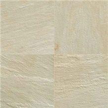 Tint Mint Sandstone Slabs & Tiles, India Beige Sandstone