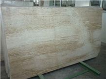 Daino Venato Marble Slab, Italy Beige Marble