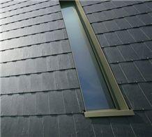 Dark Gray Slate Roof Tiles