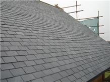 Silica Green Slate Roofing Tiles