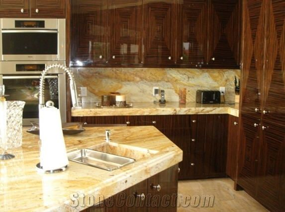 Delicieux Golden Rustic Granite Countertop