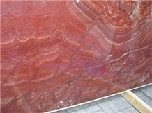 Volcano Red Onyx Slab