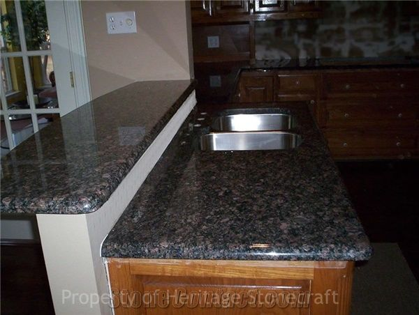 Sapphire Brown Granite Countertops From United States