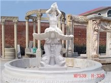 Fountains, White Granite Exterior Garden Fountains and Water Features,Floadint Ball Fountains and Spheres