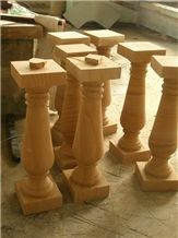 Yellow Sandstone Balusters