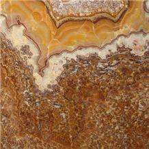 Balikesir Onyx Slabs & Tiles, Turkey Brown Onyx