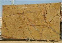 Rainforest Gold Marble Slabs