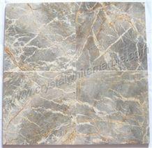 Vietnam Gris Nebula Marble Slabs & Tiles