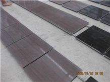 Grey Wood Grain Wenge Stone, China Grey Marble Slabs & Tiles