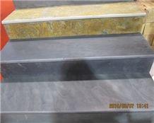 Black Slate Stairs