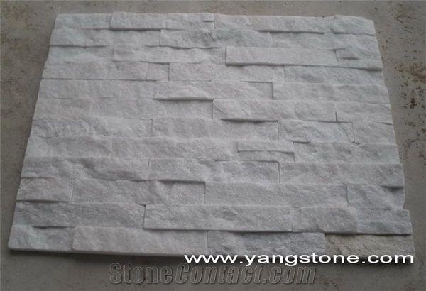 Pure White Quartzite Wall Tile From China Stonecontact Com