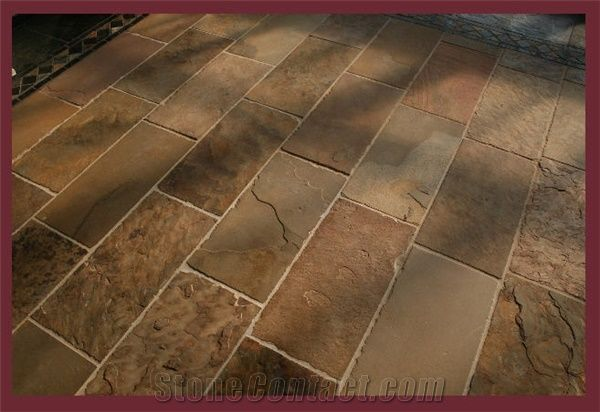 African Sun Slate Floor Tile From Poland 94314 Stonecontact