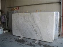 Calacatta Bluish Marble tiles & Slabs, Italy White Marble polished floor tiles, wall tiles