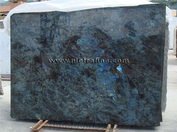 Lemurian Blue Granite Slab Madagascar Blue Granite From
