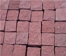 Red Porphyry Cubes