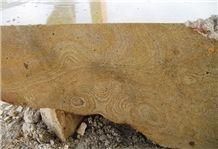 Trachite Giallo Venata Trachyte Blocks