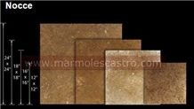 Noce Travertine Tiles, Mexican Noce Travertine