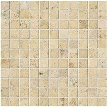 Gascogne Beige Limestone Mosaic