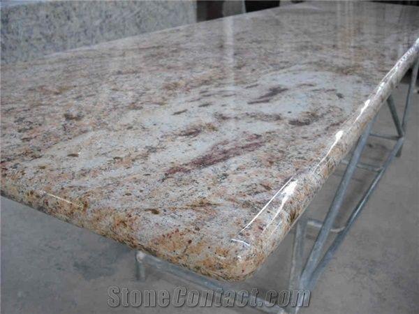 Orlando Gold Granite Countertop from China - StoneContact com