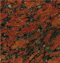Rosso Santiago Granite Slabs & Tiles