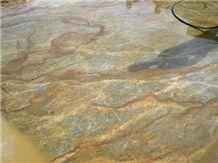 Golden Kan Granite Slabs & Tiles, Brazil Yellow Granite