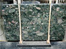 Green Marinace Granite Slab, Brazil Green Granite