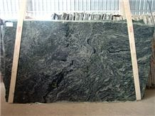 Verde Candeias Graniteslabs, Brazil Green Granite
