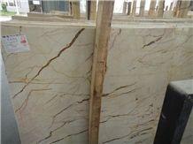 Luna Pearl Marble Slabs, Beige Polished Marble Floor Tiles & Slabs