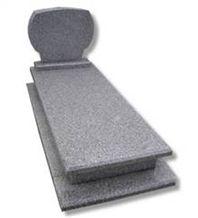 European Style Granite Tombstone
