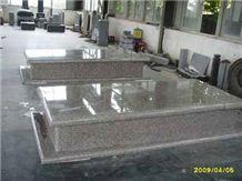 G603 Grey Granite Tombstone