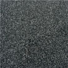 Flamed G654 Nero Impala Dh Granite,Black Sesame China Granite Slabs Tiles Panel Tile Villa Interior Wall Cladding,Exterior Floor Covering Pattern