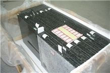 China Black Granite Bathroom Vanities