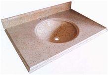 Golden Garnet Granite Vanity Top