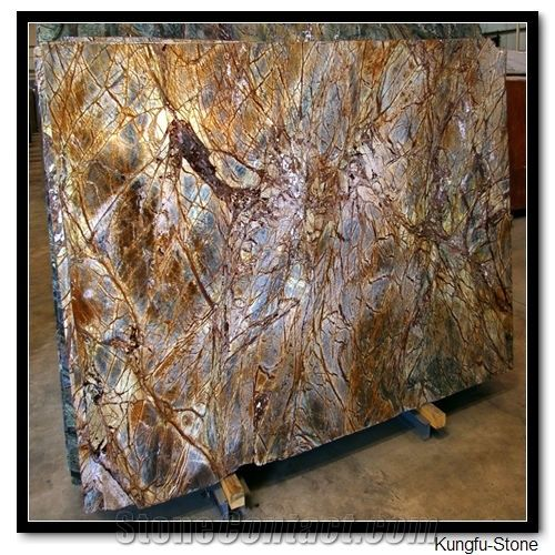 Rainforest Brown Granite From China Stonecontact Com