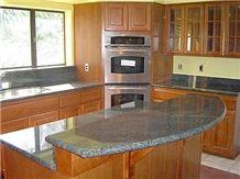 Grey Granite Kitchen Countertops
