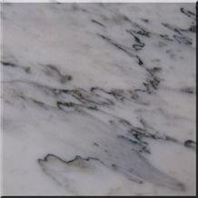 Landscape White Marble Tile