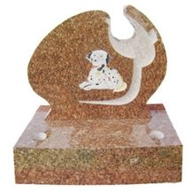 Russian Style Monument,red Granite Pet Monument