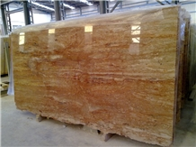 Travertine Rose Slabs, Red Travertine Tiles
