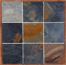 Jack Multi Slate, Jak Multicolor Slate Tile